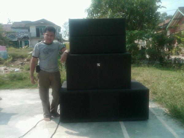 line array lampung